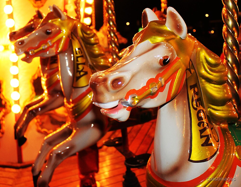 Carousel at Whitley Bay by coastimages
