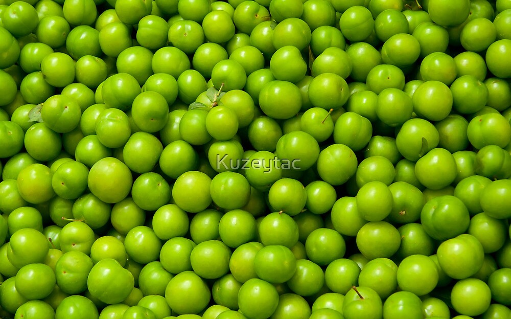 Green Plums  by Kuzeytac