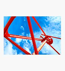 """""""Tyne Anew"""" Sculpture at Royal Quays, Tyneside Photographic Print"""