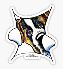 My Inner Saint Bernard Sticker