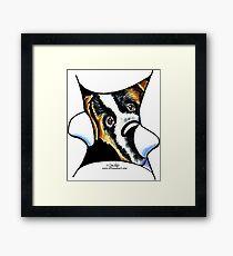 My Inner Saint Bernard Framed Print