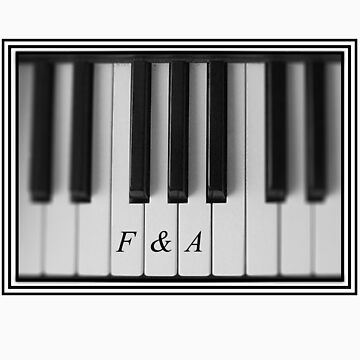 F&A Piano Keys by AandF