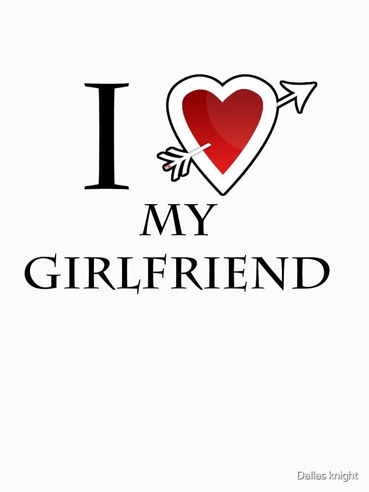 i love my girlfriend heart by tiaknight