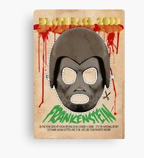 Death Race 2000 (mask) Canvas Print