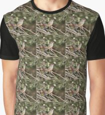 Red-browed Firetail Graphic T-Shirt