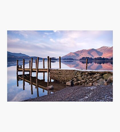 Ashness Jetty - Derwentwater - The Lake District Photographic Print