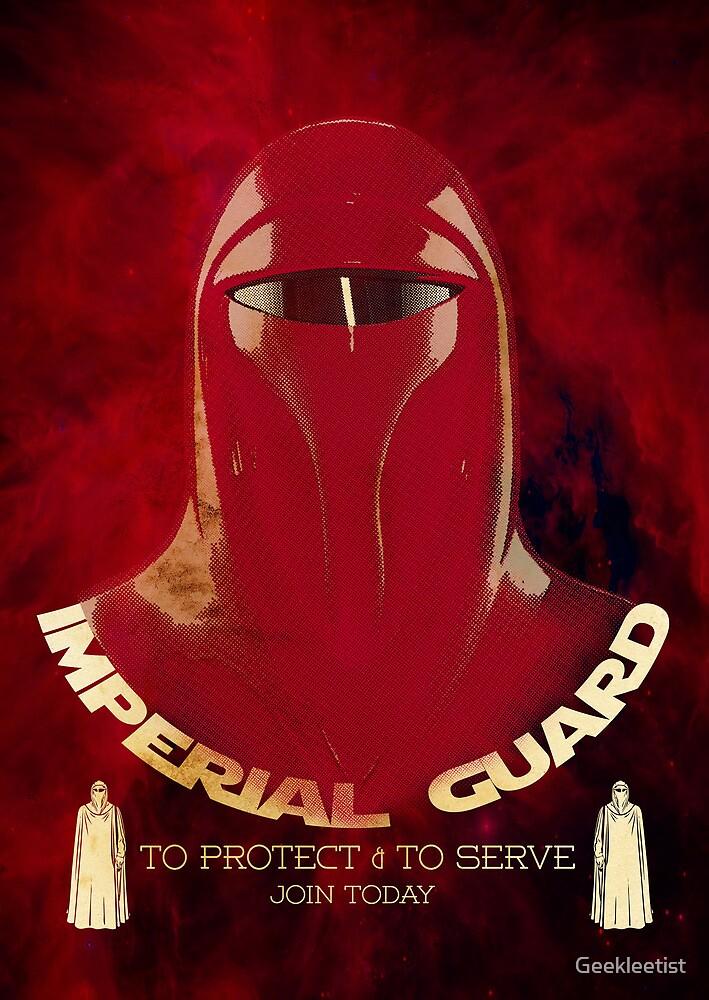 Imperial Guard by Geekleetist