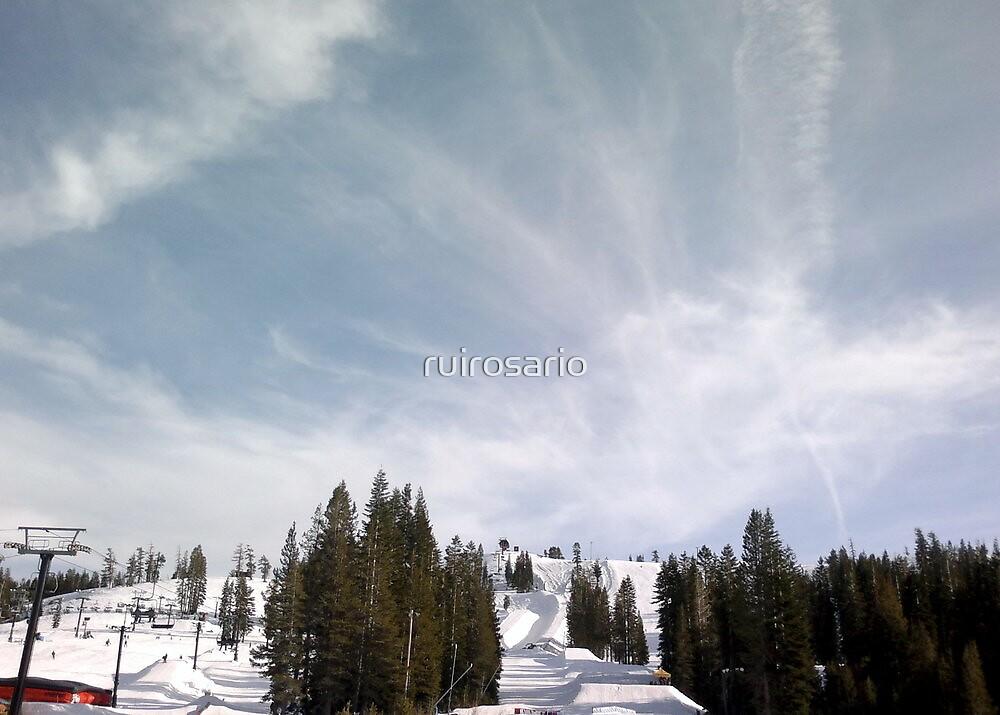 Fun at  Snow Skiing Station by ruirosario