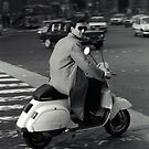 Scooterman Rome by Flo Smith