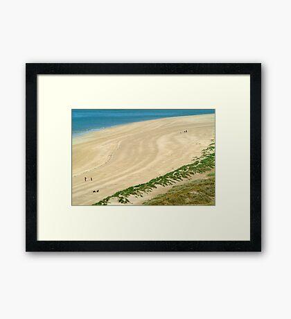 The Beach - Rock Cornwall Framed Print