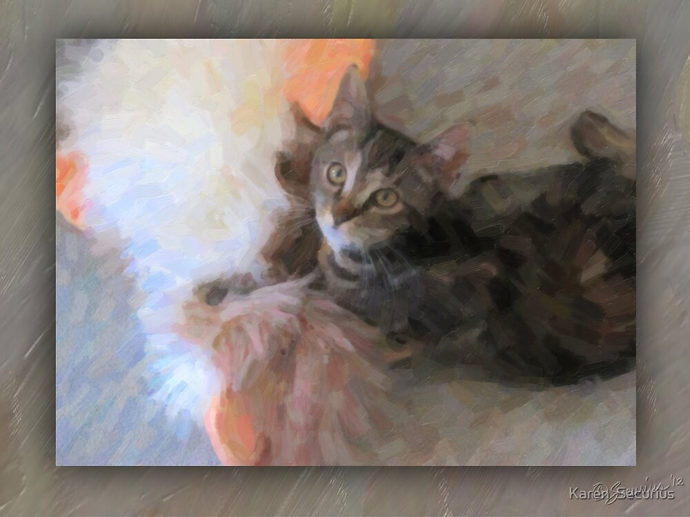 """Fuzzy & the """"What'sit"""" by Karen  Securius"""