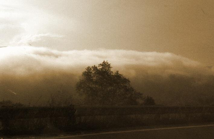 Fog in the mountains. by mmulgrew16