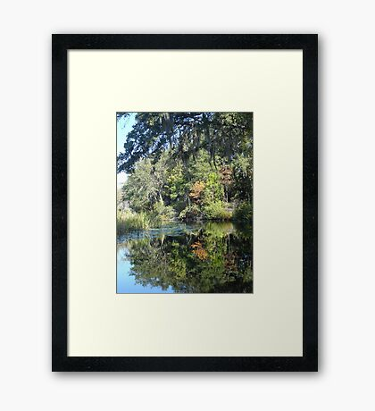 FIRST TOUCH  OF FALL Framed Print