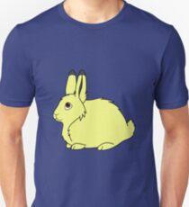 Yellow Arctic Hare Unisex T-Shirt
