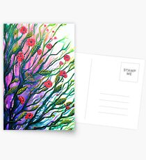 Morning Breeze - Flowers Postcards