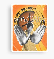 Wu-Chang Ain't nuttin to F•ck With Metal Print