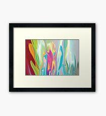 Floral Quest Framed Print