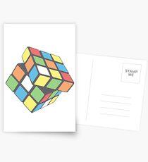 Rubix Cube - Plain Postcards