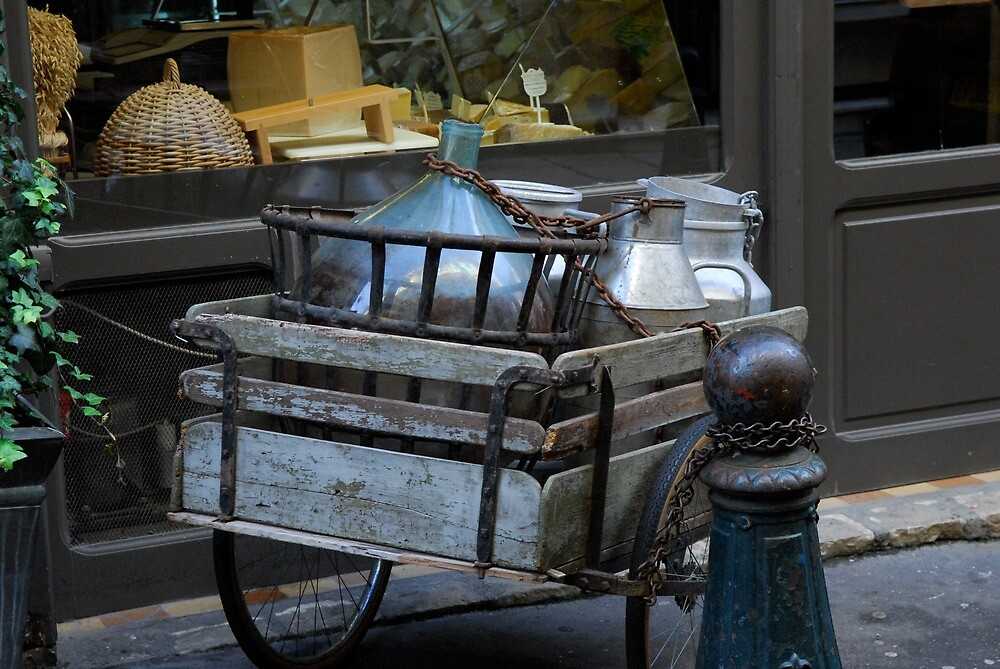 Old Cart   Nice, France by rubbish-art