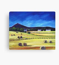 Bennachie at Inverurie Canvas Print