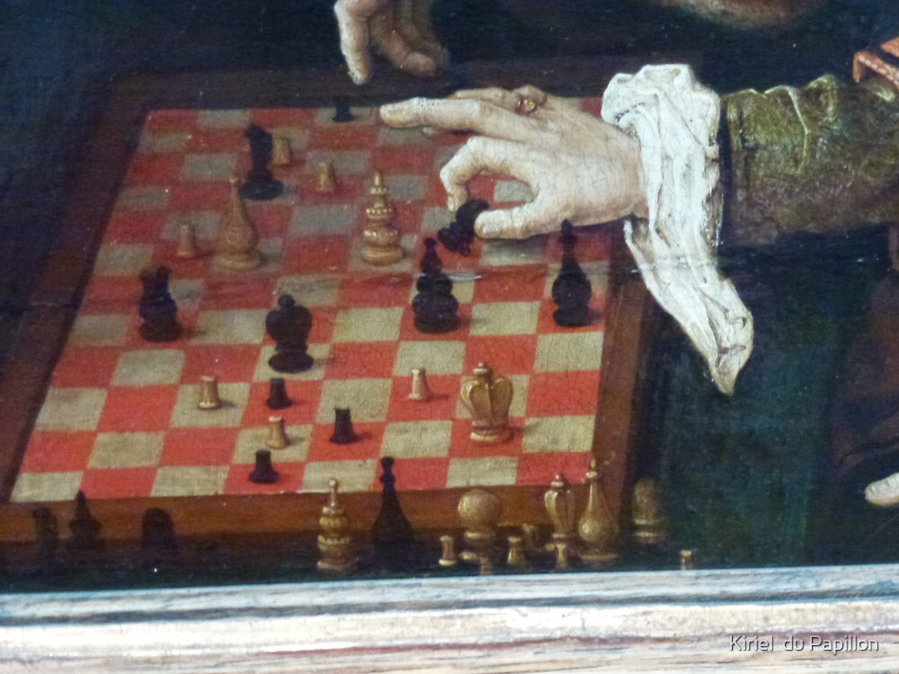 The Chess party by Kiriel