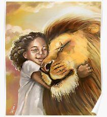 Lion's Kiss Poster
