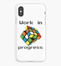 Rubix Cube - Work in progress iPhone Case/Skin