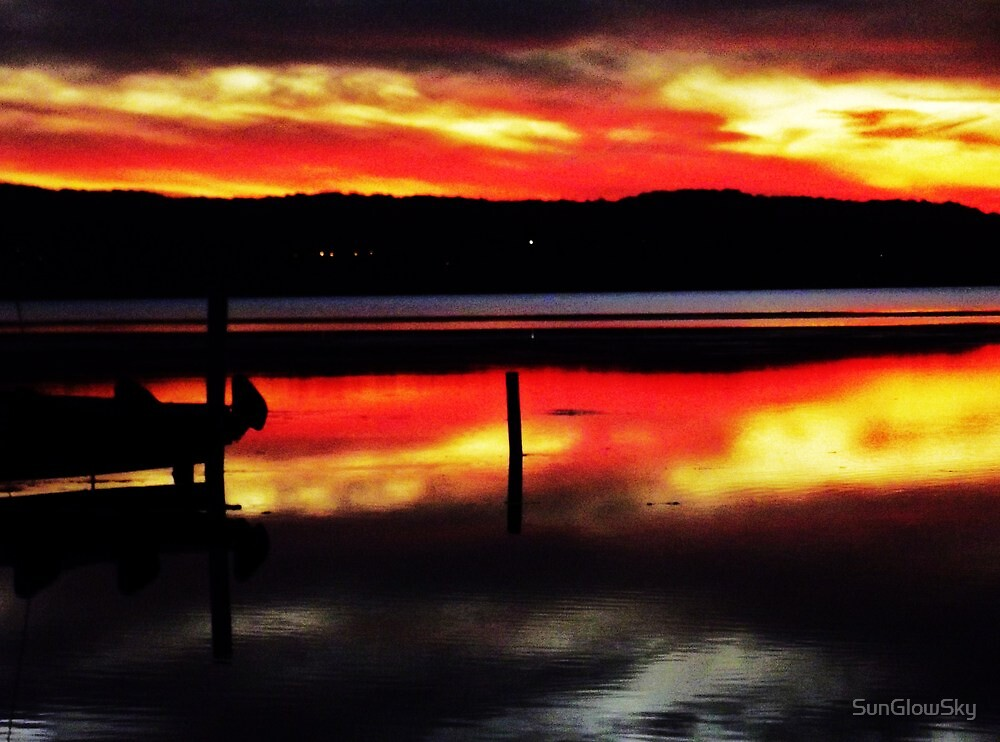 Dreamtime Sunset  by SunGlowSky