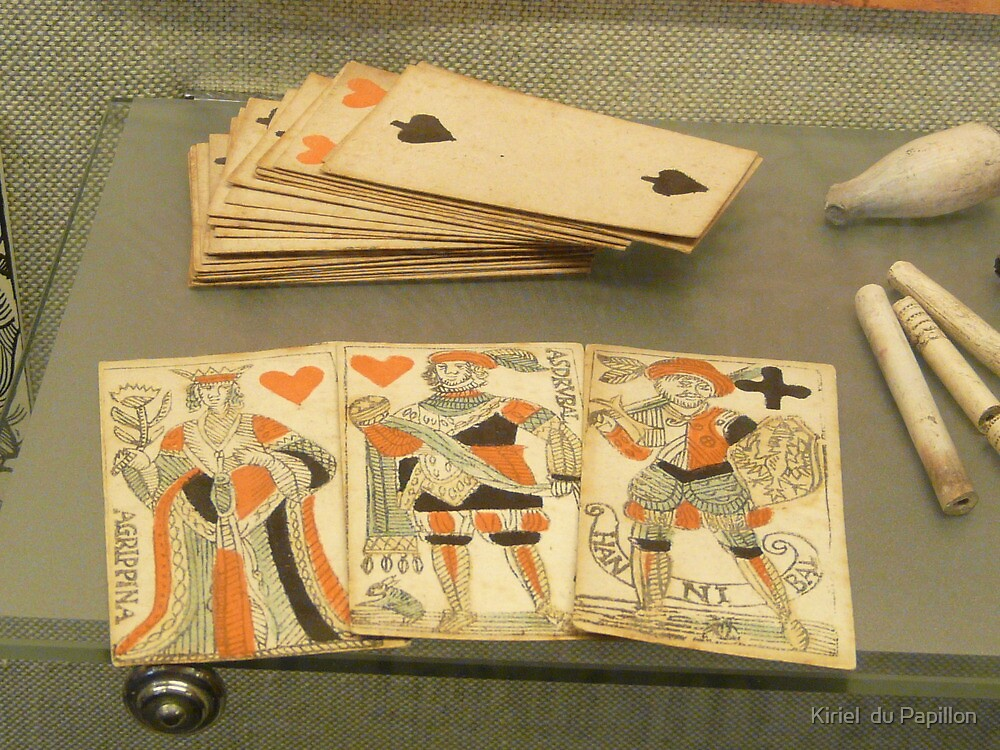 17th century playing cards by Kiriel