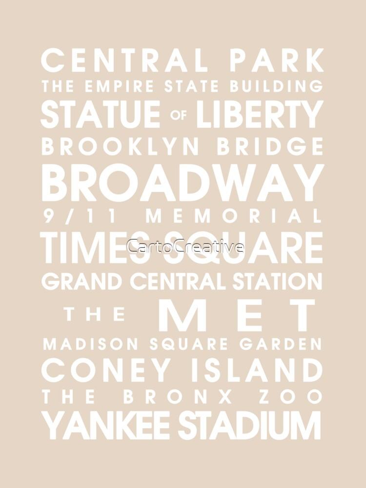 New York City Roll de CartoCreative