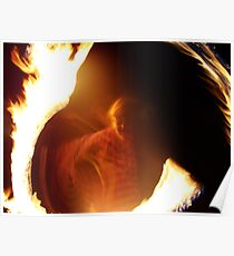 The Druid Collection - Renard the Fire Druid Poster