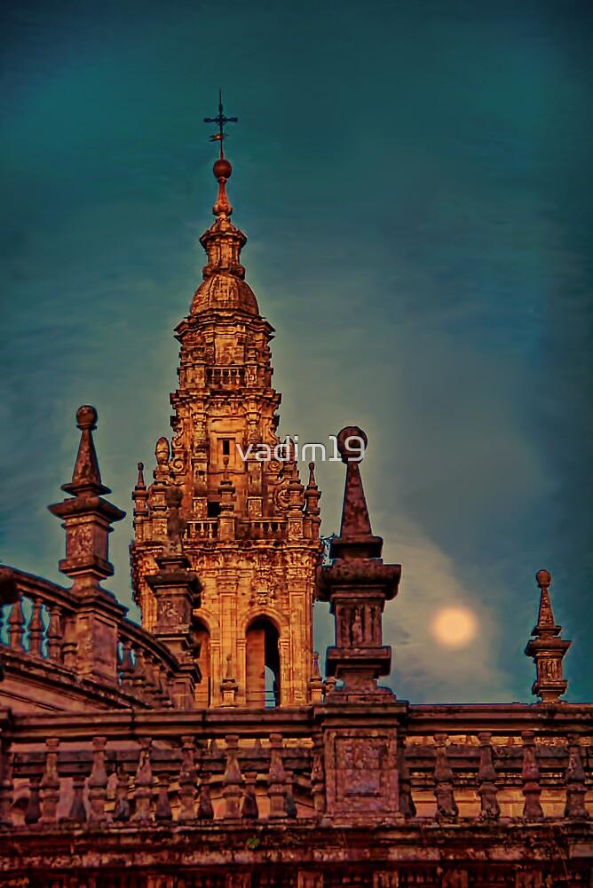Spain. Santiago de Compostela. Cathedral. Detail. by vadim19