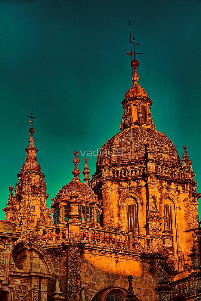 Spain. Santiago de Compostela. Cathedral. Another Detail. by vadim19