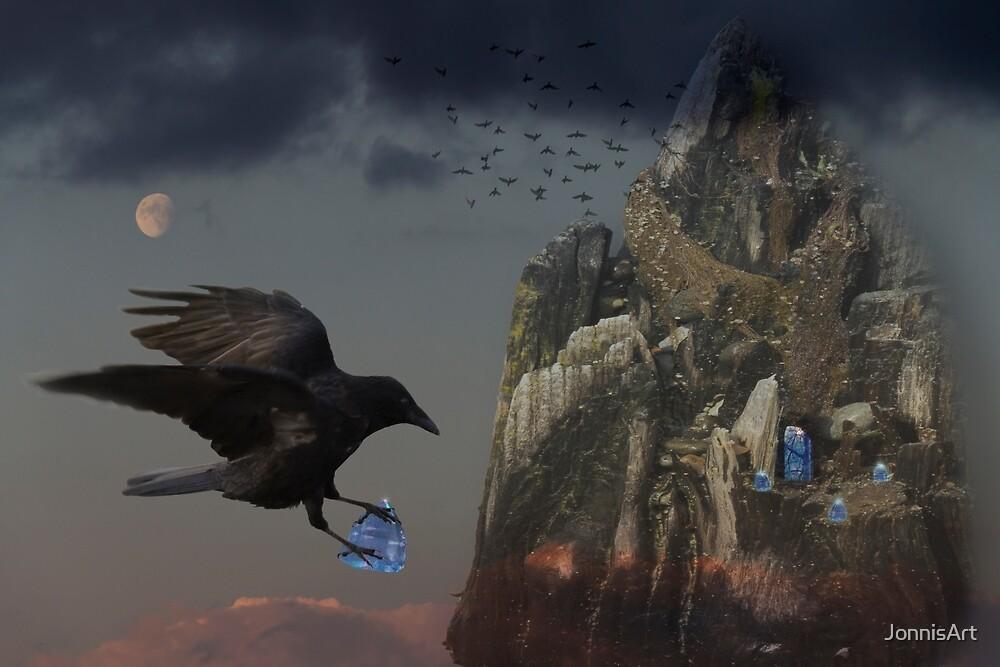 Crows Castle by JonnisArt