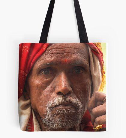 street life. dharamsala, india Tote Bag