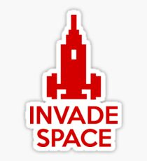 Invade Space Sticker
