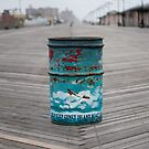 Coney Island Trash Can by Elephantlove
