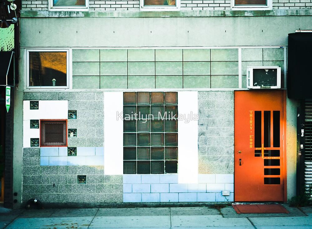 Brooklyn Facade  by Kaitlyn Mikayla
