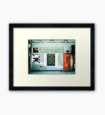Brooklyn Facade  Framed Print
