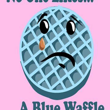 BLUE WAFFLE by streetcustomz