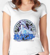 Camiseta entallada de cuello ancho Pokemon Returns: Plata