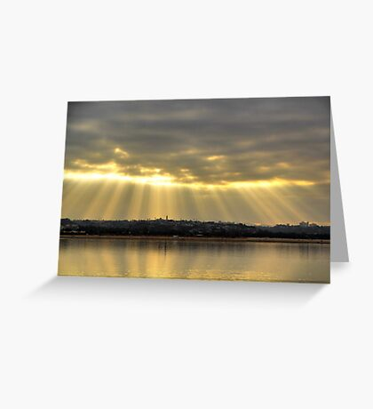 Morning on the Bay Greeting Card