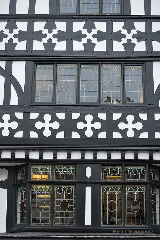 Chester...Tudor Rows by Helen Greenwood