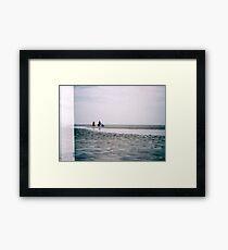 Strollin' Framed Print