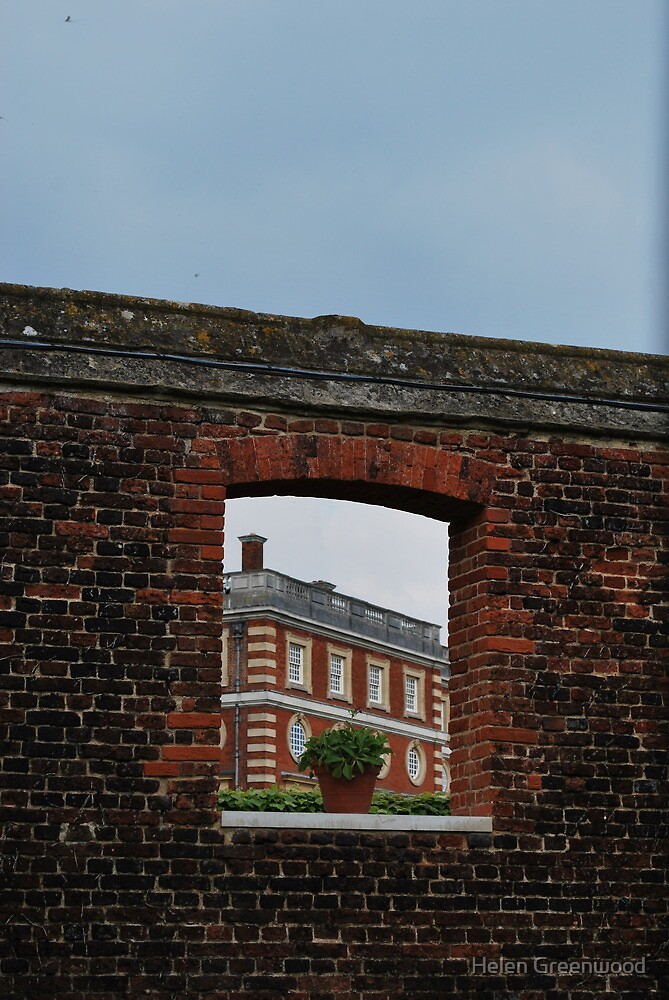 Window to Hampton Court Palace by Helen Greenwood