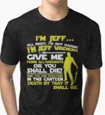 JEFF VADER Tri-blend T-Shirt