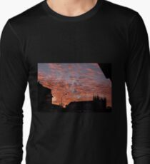Tropical Sunset Magic, Rankin St. Innisfail Qld Long Sleeve T-Shirt