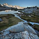 Sunrise on Dusy Basin, Sierra Nevada by Scott Sawyer