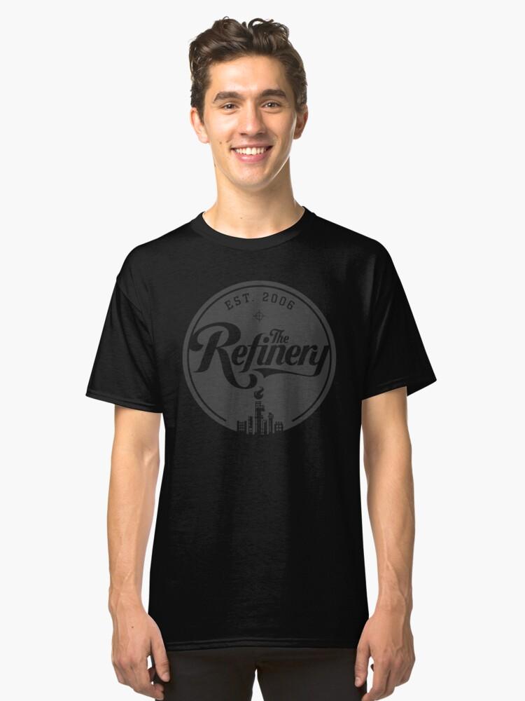 TR 2012 T-shirt #1 Grey Classic T-Shirt Front