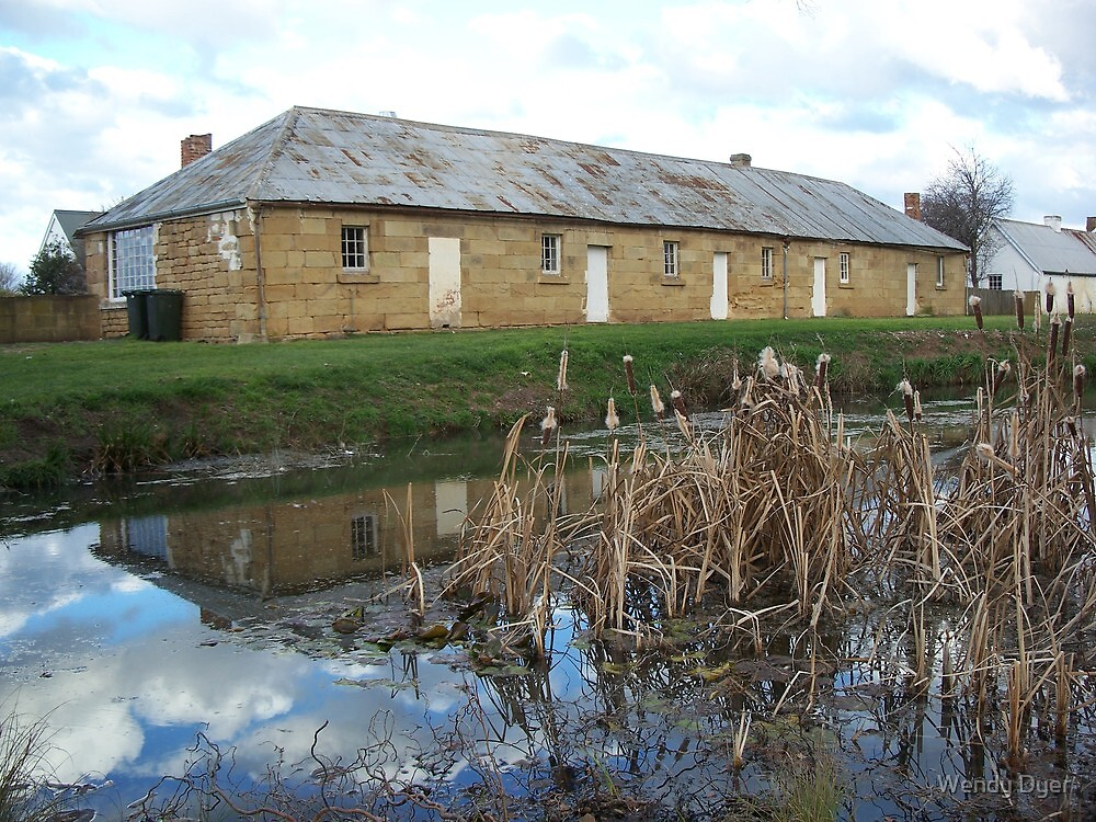 """""""Somercotes"""", Ross, Tas by Wendy Dyer"""